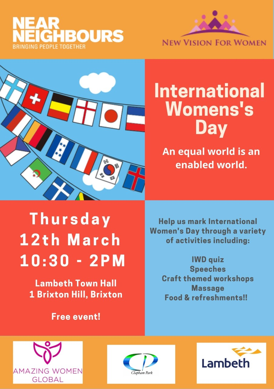 International Womens Day 12 March 2020